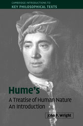 Hume's 'A Treatise of Human Nature' by John P. Wright
