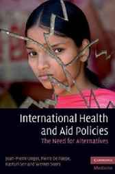 International Health and Aid Policies by Jean-Pierre Unger