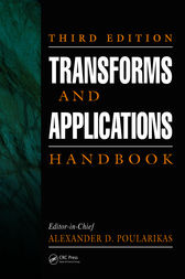 Transforms and Applications Handbook, Third Edition by Alexander D. Poularikas