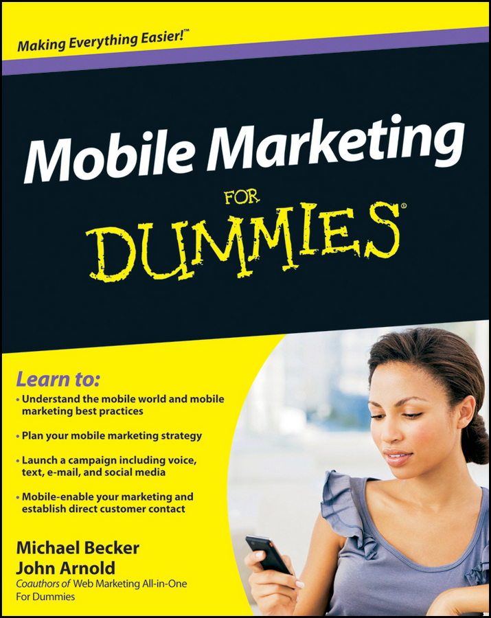 Download Ebook Mobile Marketing For Dummies by Michael Becker Pdf