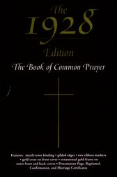 The 1928 Book of Common Prayer by Oxford University Press