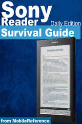 Sony Reader Daily Edition Survival Guide by MobileReference