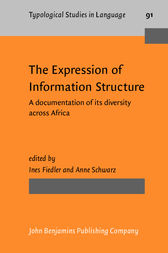The Expression of Information Structure by Ines Fiedler