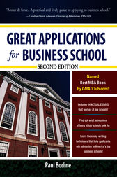 Great Applications for Business School, Second Edition by Paul Bodine