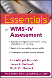 Essentials of WMS-IV Assessment by Lisa W. Drozdick