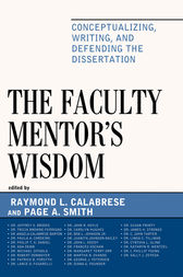 The Faculty Mentor's Wisdom by Raymond L. Calabrese