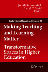 Making Teaching and Learning Matter by Judith Summerfield