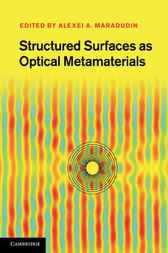 Structured Surfaces as Optical Metamaterials