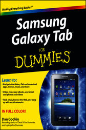 Samsung Galaxy Tab For Dummies by Dan Gookin