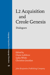 L2 Acquisition and Creole Genesis by Claire Lefebvre
