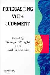 Forecasting with Judgment by George Wright