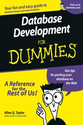 Database Development For Dummies by Allen G. Taylor