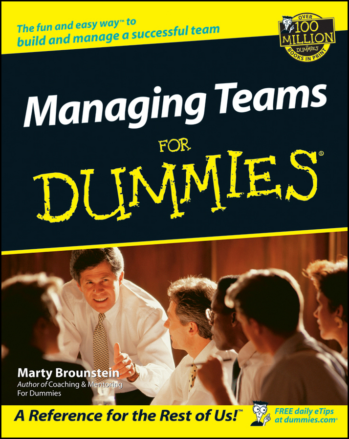 Download Ebook Managing Teams For Dummies by Marty Brounstein Pdf