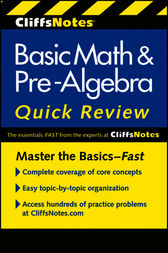 CliffsNotes Basic Math and Pre-Algebra Quick Review by Jerry Bobrow