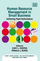 Human Resource Management in Small Business by Cary L. Cooper
