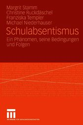 Schulabsentismus by Margrit Stamm