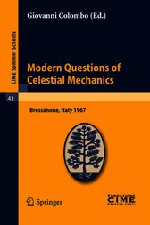 Modern Questions of Celestial Mechanics by Giovanni Colombo