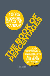 The Book of Percentages: Over 500 bizarre, obscure, random, surprising, and 100% enlightening facts on just about everything nothing