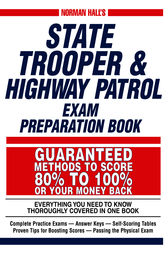 Norman Hall's State Trooper & Highway Patrol Exam Preparation Book by Norman Hall