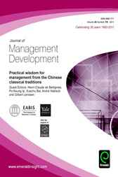 Practical Wisdom for Management from the Chinese Classical Traditions by Ip de Bettignies