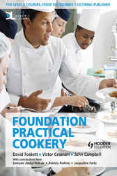 Foundation Practical Cookery Student Book by David Foskett