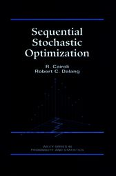Sequential Stochastic Optimization by R. Cairoli