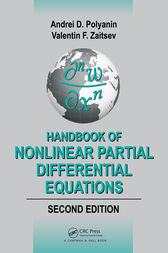 Handbook of Nonlinear Partial Differential Equations, Second Edition by Andrei D. Polyanin
