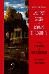 Introductory Readings in Ancient Greek and Roman Philosophy by C. D. C. Reeve