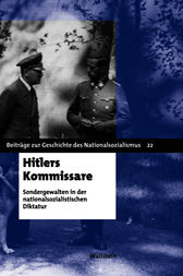 Hitlers Kommissare by Rüdiger Hachtmann