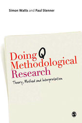 Doing Q Methodological Research by Simon Watts