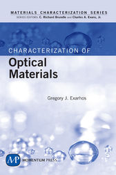 Characterization of Optical Materials by Gregory J. Exarhos