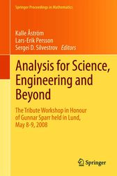 Analysis for Science, Engineering and Beyond by Kalle Åström