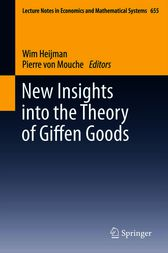 New Insights into the Theory of Giffen Goods by W.J.M. Heijman