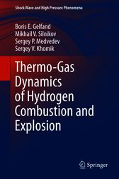 Thermo-Gas Dynamics of Hydrogen Combustion and Explosion by Boris E. Gelfand