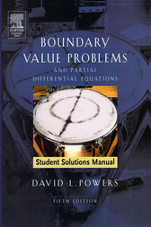Student Solutions Manual to Boundary Value Problems: and Partial Differential Equations
