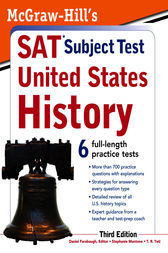 McGraw-Hill's SAT Subject Test United States History, 3rd Edition by Daniel Farabaugh
