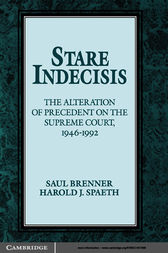 Stare Indecisis by Saul Brenner