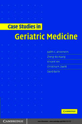 Case Studies in Geriatric Medicine by Judith C. Ahronheim