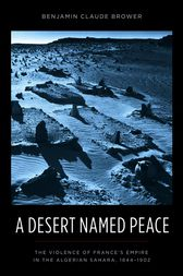 A Desert Named Peace by Benjamin Claude Brower