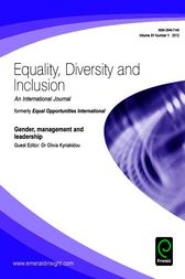 Gender, management and leadership by Olivia Kyriakidou