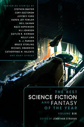 The Best Science Fiction and Fantasy of the Year Volume 6 by Stephen Baxter