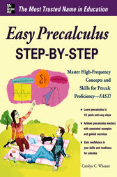 Easy Precalculus Step-by-Step by Carolyn Wheater