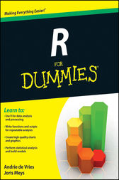 R For Dummies by Andrie de Vries