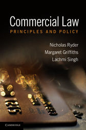 Commercial Law by Nicholas Ryder