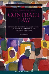 Contract Law by Hugh Beale