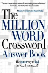 The Million Word Crossword Answer Book by Stanley Newman