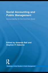 Social Accounting and Public Management by Stephen P. Osborne