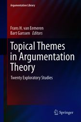 Topical Themes in Argumentation Theory by Frans H. van Eemeren