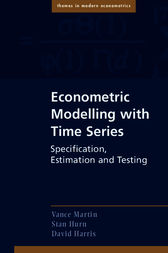 Econometric Modelling with Time Series: Specification, Estimation and Testing