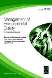 Marine Environmental Quality by Ulisses M Azeiteiro